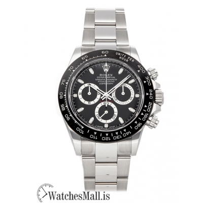 Rolex Replica Daytona Black Dial 40mm 116500LN