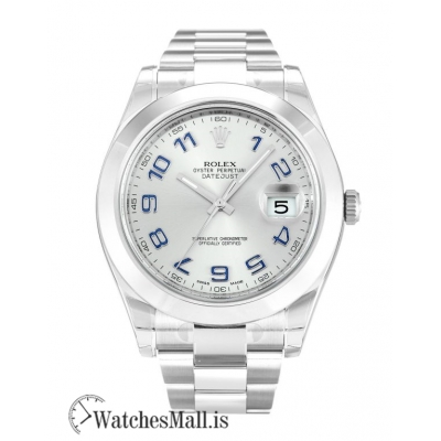 Rolex Datejust II Replica Automatic Silver Arabic 116300 41MM