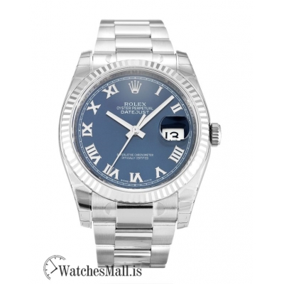 Rolex Datejust Replica Automatic Blue Roman Numeral 116234 36MM