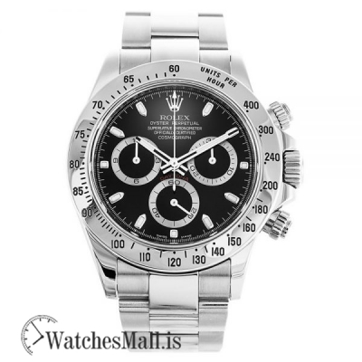 Rolex Daytona Black Replica 116520 Automatic 40MM
