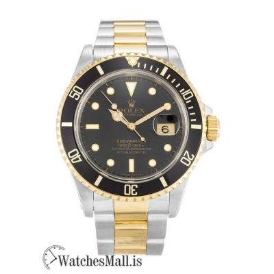 Rolex Submariner Replica 316 Grade Stainless Steel Black 16613 40MM