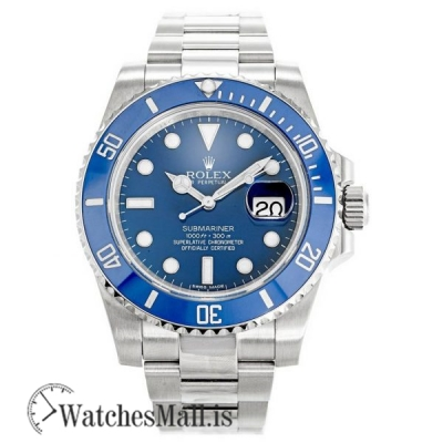 Rolex Submariner Blue 116619LB Automatic 40MM