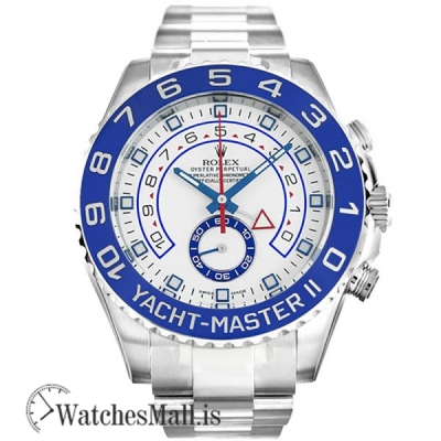 Rolex Yacht Master White 116680 Automatic 316 Grade Stainless Steel 44MM
